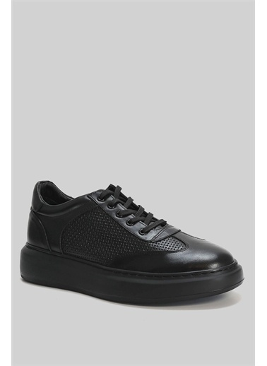 Lufian Attıvo Deri Casual Ayakkabı  Siyah